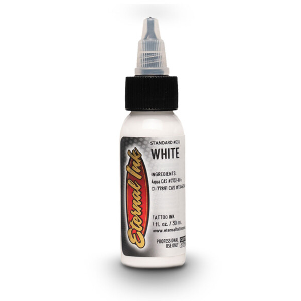 Eternal Tattoo Ink. White