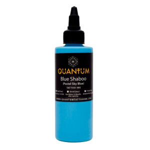 QUANTUM Tattoo Ink Blue Shaboo (Pastel Sky Blue). 1 oz. (ca 30 ml)