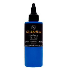 QUANTUM Tattoo Ink Ur-Anus (Sky Blue). 1 oz. (ca 30 ml)